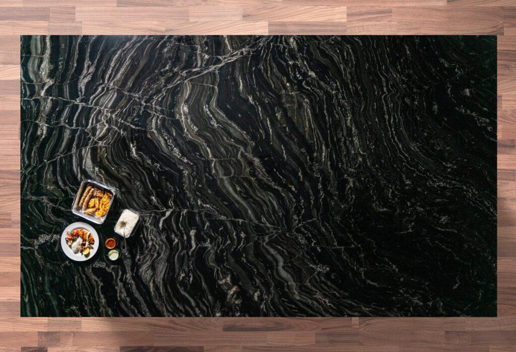 Black Storm Granite Slab