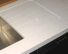 Recess Sink And Drainer Area