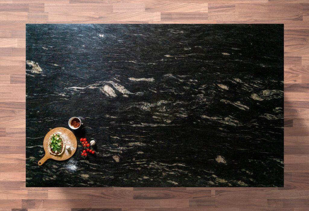 Cosmic Black Granite Slab